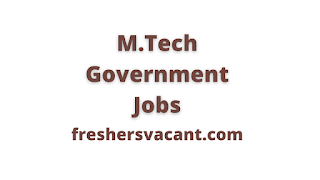 image results as M.Tech Government Jobs