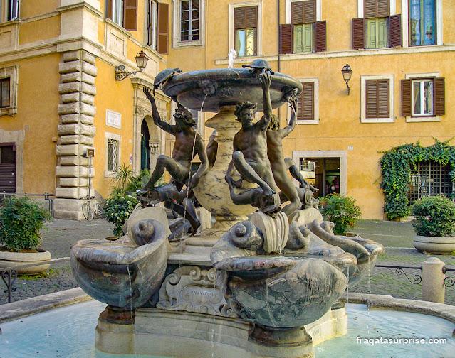 Fonte das Tartarugas (Fontana delle Tartarughe), Roma