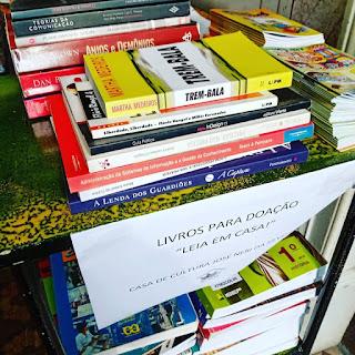 CULTURA: Casa de Cultura José Néri da Silveira oferece livros para doação à comunidade lavrense