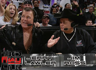 WWE / WWF No Way Out 2001 - Jerry Lawler called his last PPV with Jim Ross before leaving the company for a few months