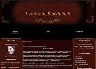 La première apparence de l'Antre de Bloodwitch sur Kazeo, en 2009