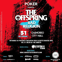 Concierto de THE OFFSPRING + BAD RELIGION en Bogotá POS3