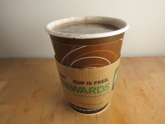 Review 7 Eleven Oreo Mint Hot Chocolate Brand Eating