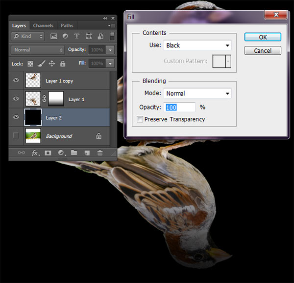 photoshop how to create a new layer
