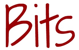 image of the word bits