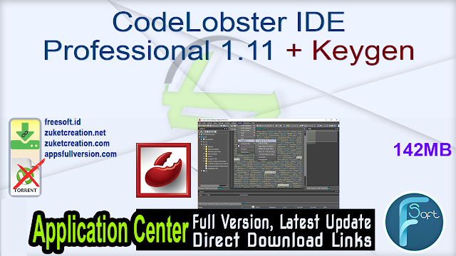 CodeLobster IDE Professional 1.11 + Keygen