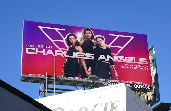Charlies Angels 2019 movie billboard