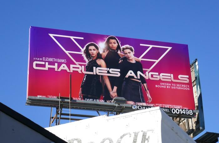 Charlies Angels 2019 movie billboard