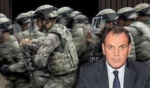 Ο στρατός αναλαμβάνει και την εσωτερική ασφάλεια;