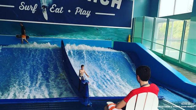 provo beach surfing simulator