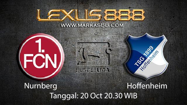 Prediksi Bola Jitu Nurnberg vs Hoffenheim 20 Oktober 2018 ( German Bundesliga )