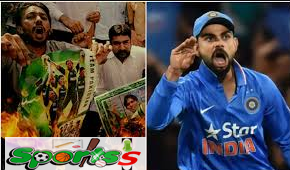 Why was the angry Pakistani captain angry before the high voltage against India?