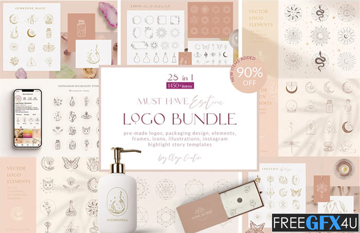 Logo Bundle Mystic Designs