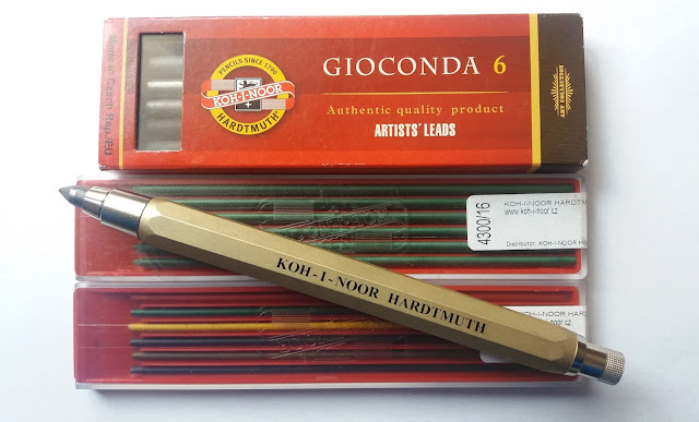 koh-i-noor harmuth pencil lead holder 5.6 mm artist