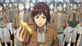 Hellominju.com : 進撃の巨人 アニメ サシャ・ブラウス (CV.小林ゆう ) | Sasha Braus | Attack on Titan  | Hello Anime !