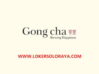 Lowongan Kerja Crew-Store Ops (Tea Master) di Gong cha Solo