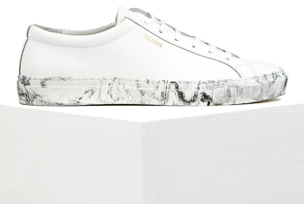 Axel Arigato marble sneakers