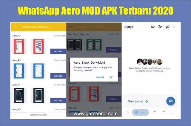 WhatsApp Aero MOD APK Terbaru 2020