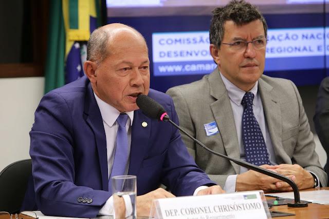 """Coronel Chrisóstomo cobra maior efetividade do """"Luz para Todos"""" em Rondônia"""