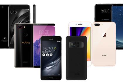 5 Hp Tercanggih 2018, Smartphone Terbaik Dengan Spesifikasi Tinggi