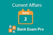 Current Affairs 2nd June 2019 | Daily GK Updates
