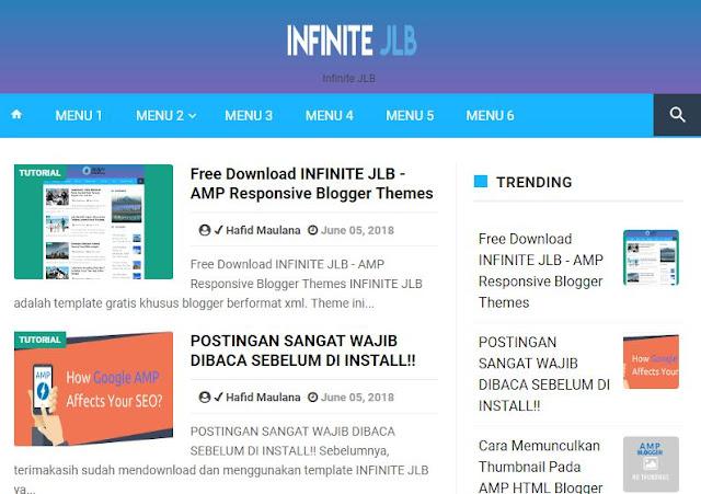 infinite jlb template
