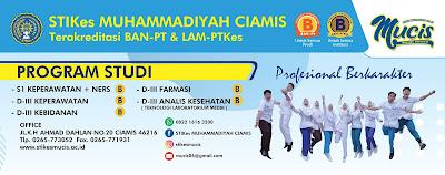 Penerimaan Online Calon Mahasiswa Baru (STIKES MUCIS) Sekolah Tinggi Ilmu Kesehatan Muhammadiyah Ciamis 2020-2021