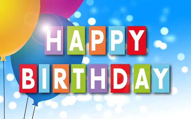 Happy Birthday, Day.