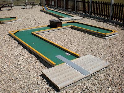 Minigolf course at Blake End in Essex