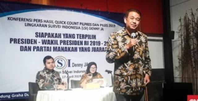 Denny JA Prediksi Pilpres 2024 Ramai Pertarungan 4 Ideologi
