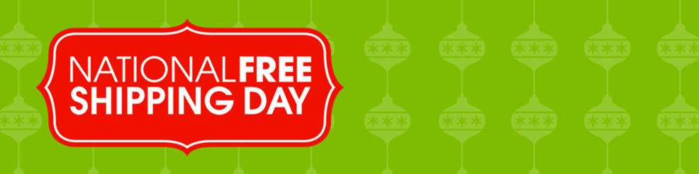 National Free Shipping Day Wishes Images download