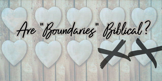 This collection includes articles reviewing the teachings from the Boundaries website.