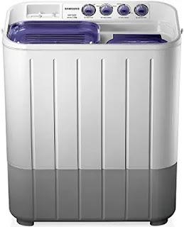 Samsung 7.2 Kg Semi Automatic Top Loading Washing Machine (WT725QPNDMPXTL)