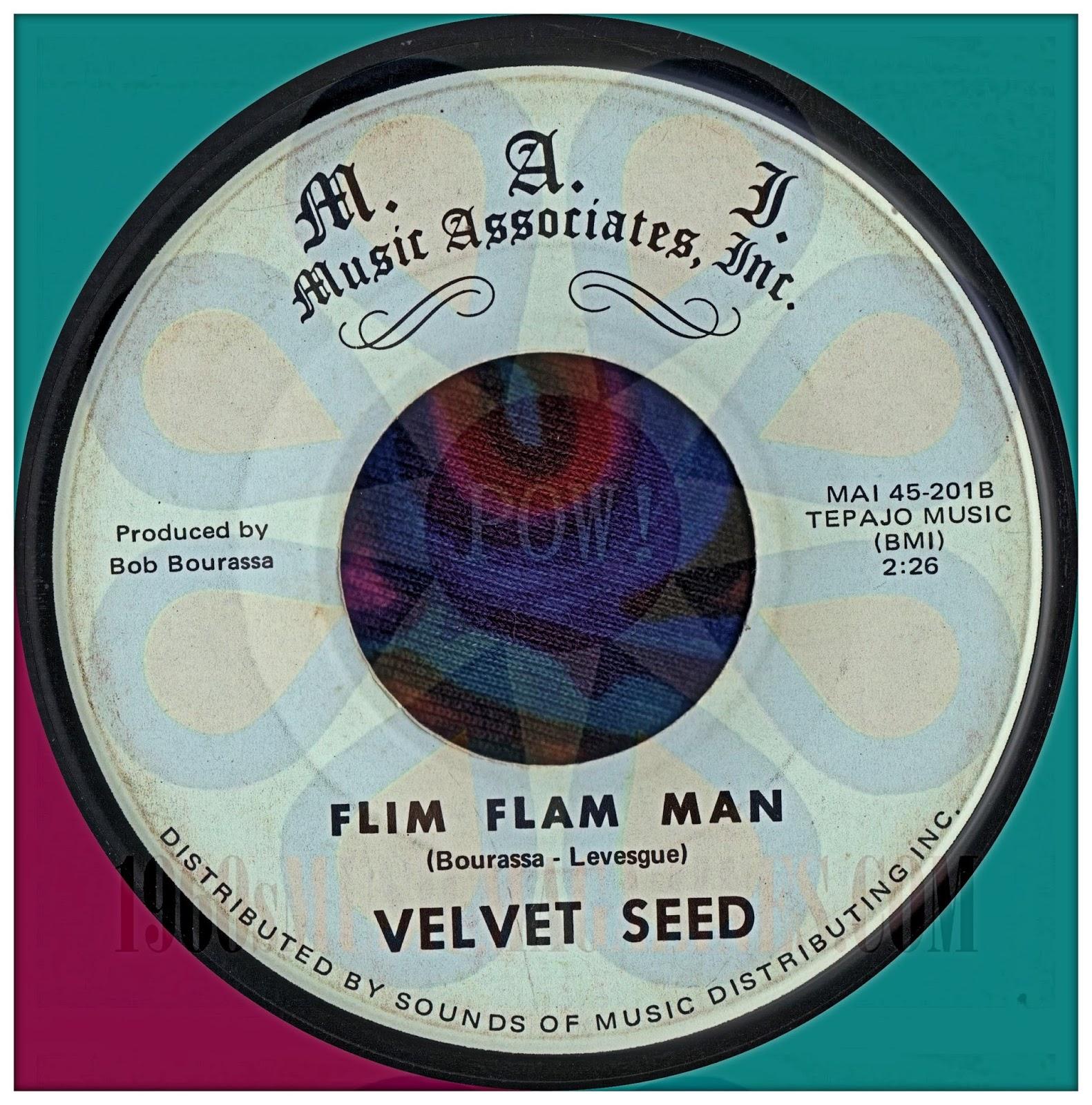 Velvet Seed Flim Flam Man Sharon Patterson