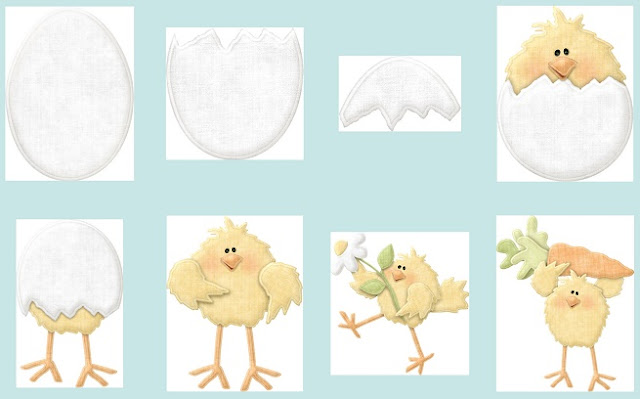 So Sweet Secuence of a Chicken Breaking the Eggshell. Tender Things Clip Art.