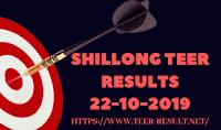 Shillong Teer Results Today-22-10-2019