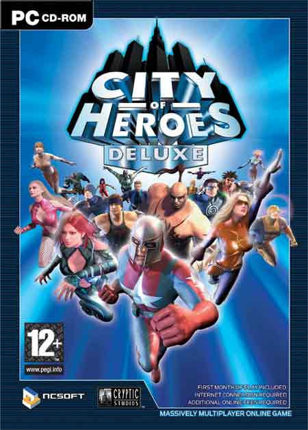 Download City of Heroes Full PC Game Full Version