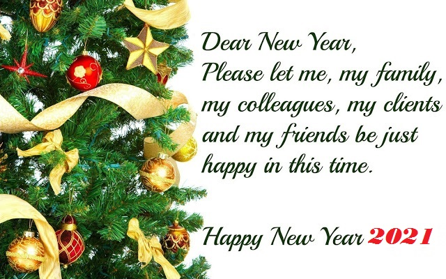 Happy New Year 2021 Quotes Wishes for Everyone