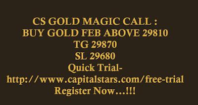 CS GOLD MAGIC CALL :   BUY GOLD FEB