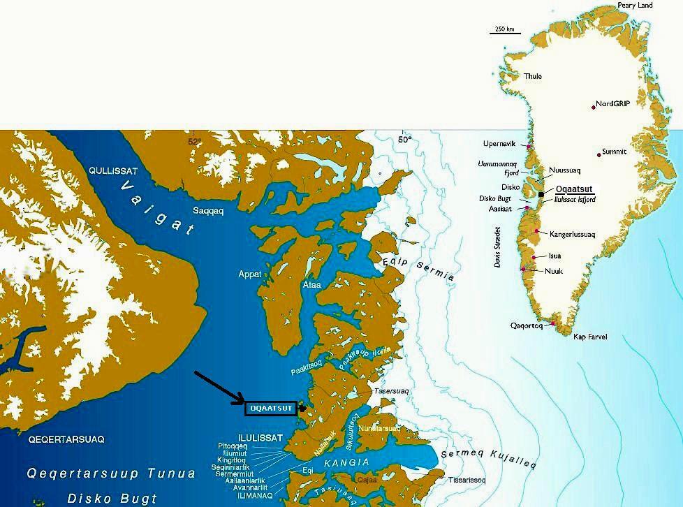 Ultima Thule Oqaatsut Rodebay Greenland An Idyllic Hamlet