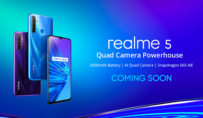 Realme 5 with Quad-Camera and 5000mAh Battery Coming to Philippines Soon