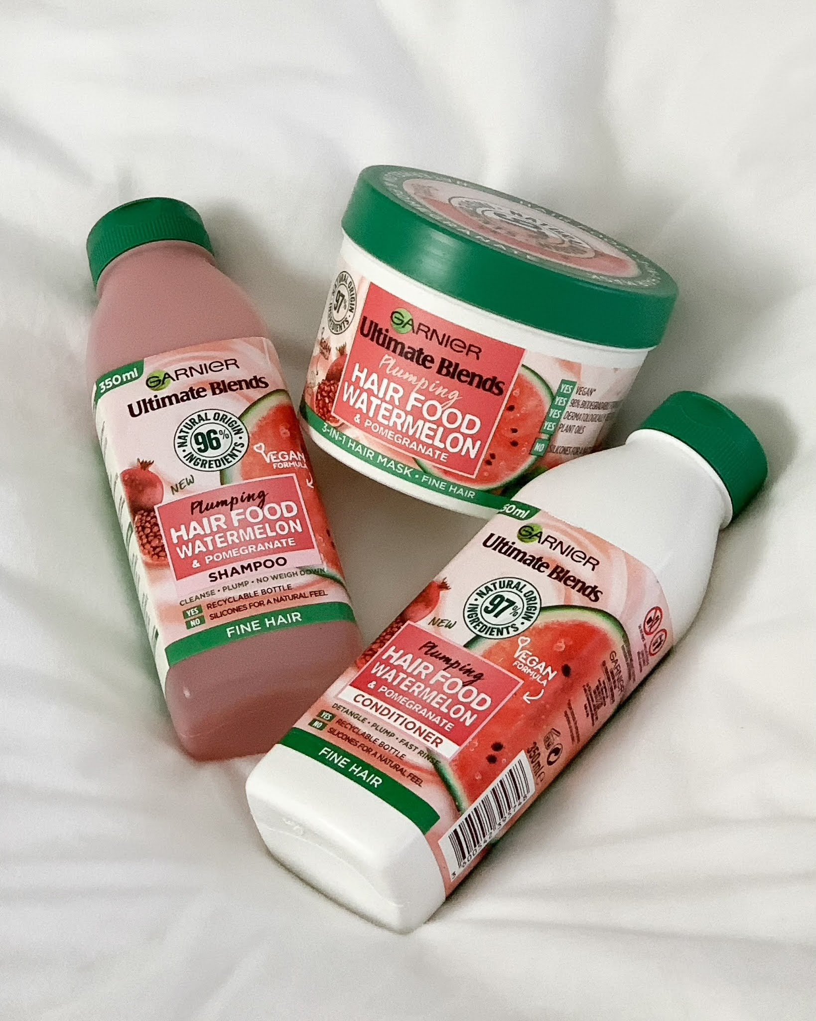 garnier ultimate blends hair food watermelon review