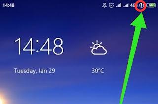Logo fast charging Xiaomi