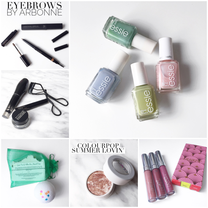 bbloggers, bbloggersca, canadian beauty bloggers, instamonth, instagram roundup, beauty blogger, southern blogger, arbonne, eyebrows, shape it up, essie, corks and bubbles, corks & bubbles, handmade soap, made in canada, colourpop cosmetics, summer lovin, out and about, viper, times square, baracuda