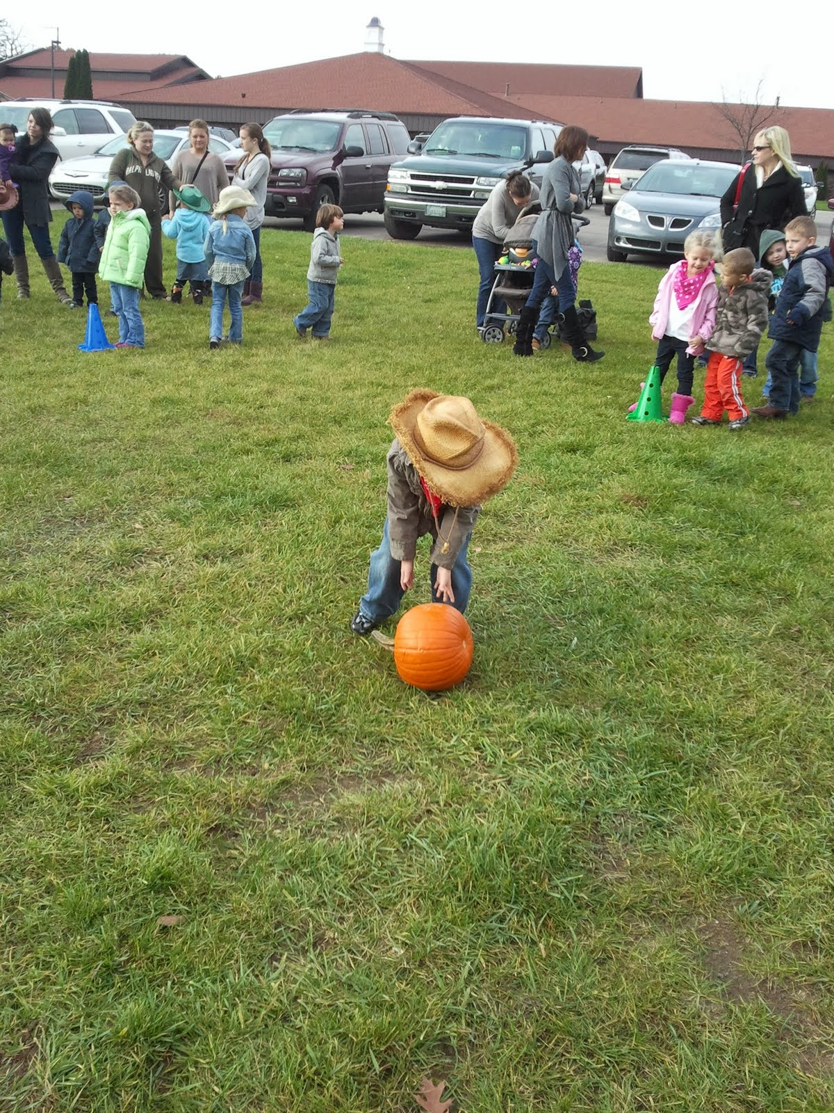 The Young Family Harvest Party At Owen S Preschool