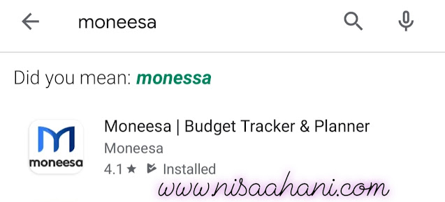 Personal Digital Assistant Moneesa