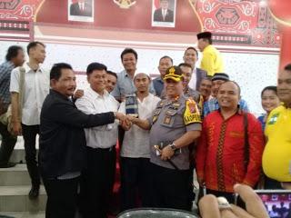 AKBP Ikhwan Lubis SH.MH Tanggap Situasi Kamtibmas Wilkum Polres Belawan