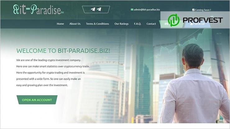 Bit Paradise обзор и отзывы HYIP-проекта