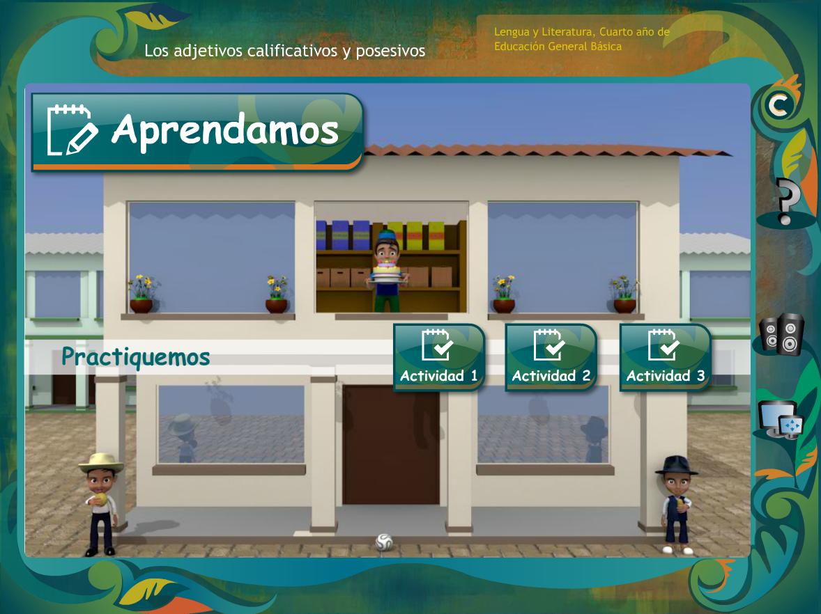 http://www.ceiploreto.es/sugerencias/ecuador/lengua/4_adjetivos_calificativos_y_posesivos/index.html