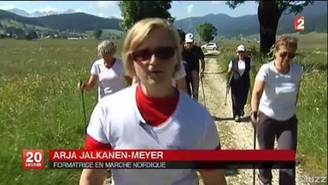 Reportage France 2 JT de 20 heures Juin 2014 Arja Jalkanen-Meyer